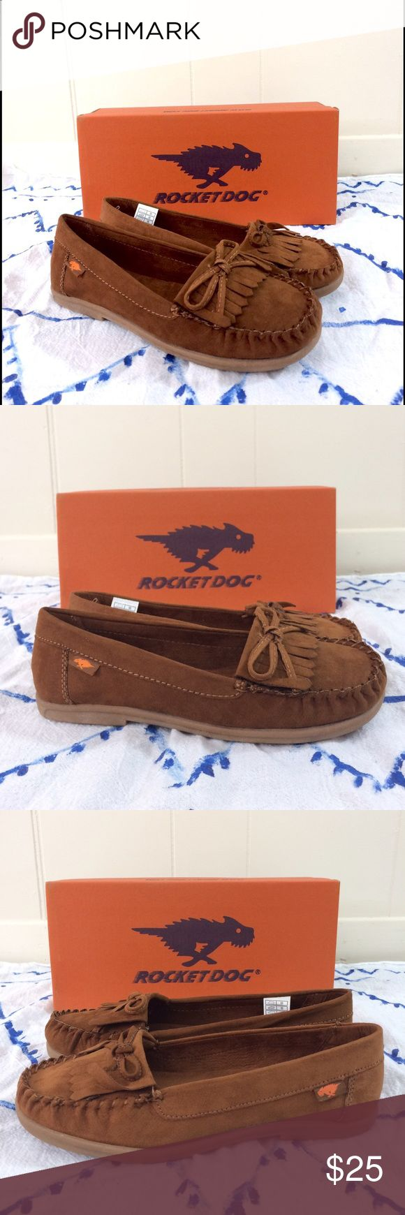 "NWT❣️ Rocket Dog | ""Juno"" Casual Moccasins ✨New in the box!✨ • Rocket Dog ""Juno"" Casual Moccasins. • In the color ""cinnamon"". • Size 6. • {If you have any questions please ask before buying.} •Colors may vary slightly from pictures• Rocket Dog Shoes Moccasins"