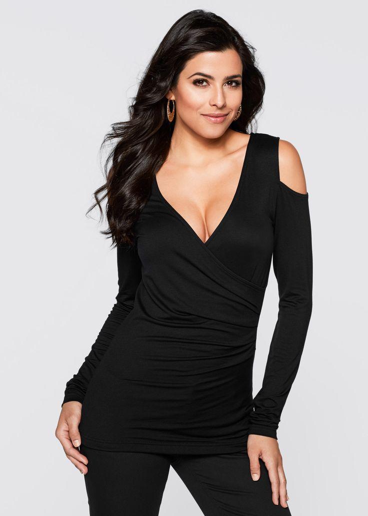 Maglia Nero - BODYFLIRT boutique è ordinabile nello shop on-line di bonprix.it da ? 14,99. Un capo da amare assolutamente! Maglia in jersey morbido, con ...