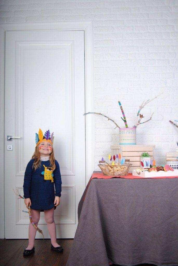 """Детский день рождения """"Индейцы""""   teepee party"""