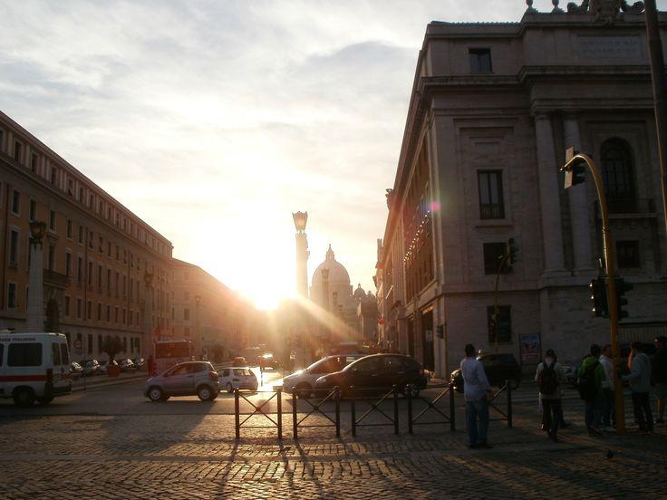 Ρωμη πριν δυσει ο ηλιος
