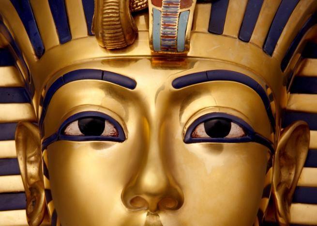 Le masque funéraire en or de Toutankhamon. <em>DR</em>