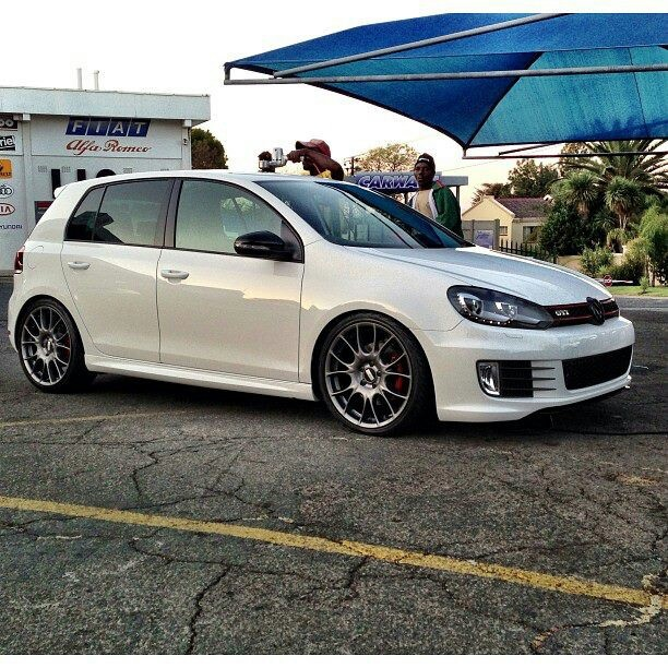 Golf GTI With BBS Wheels GTi MK6 Pinterest