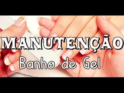 BANHO DE GEL - MANUTENÇÃO