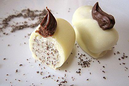Weiße Mohnpralinen, ein schmackhaftes Rezept aus der Kategorie Konfiserie. Bewertungen: 3. Durchschnitt: Ø 3,4.