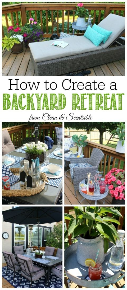 How to Create a Backyard Oasis 22