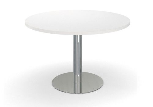 AGATI Furniture Disk Base Tables Steel Available In