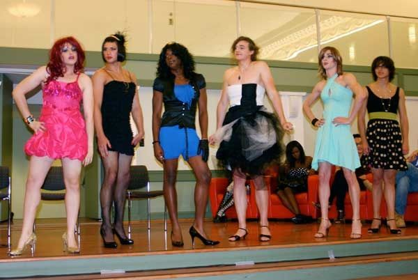 Vassar College Womanless Fashion Show, 2010.