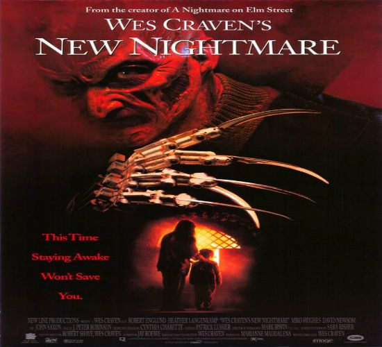 """La nueva pesadilla de Wes Craven""A demonic force has chosen Freddy Krueger as its portal to the real world. Can Heather play the part of Nancy one last time and trap the evil trying to enter our world?"