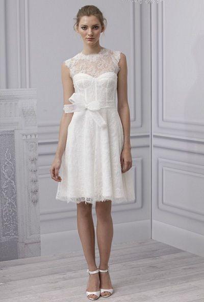 vestidos modernos para bodas coleccin monique lhuillier