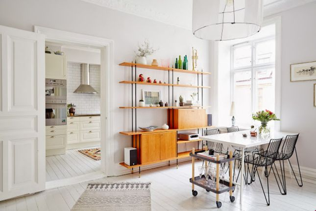 Fresh and Clean: 30 Scandinavian-Inspired Rooms via Brit + Co.