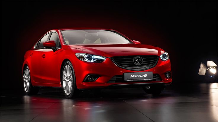 Kunst! Проливаем студийный свет нановый седан Mazda6