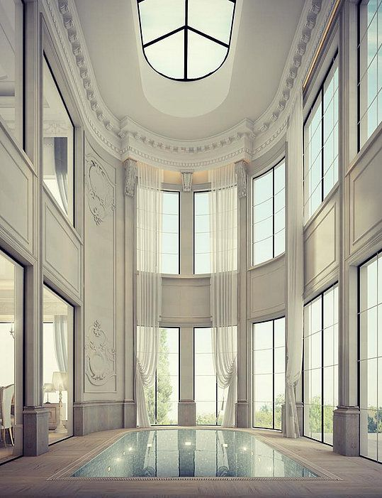 20 best luxury entrance lobby designs by ions design for Residential interior design companies