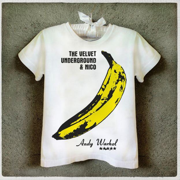 Camiseta Infatil The Velvet Underground   Kids T-Shirt Graphic Tee