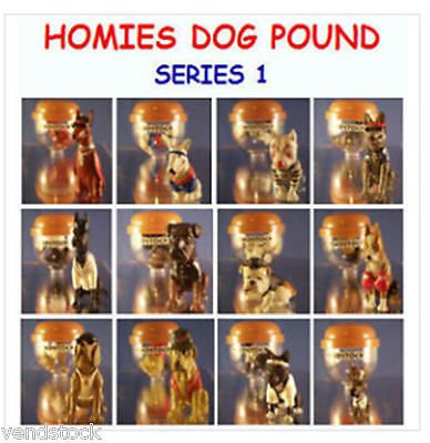 12 new retired #homies dog #pound set series 1 mini cup cake topper #figures favo,  View more on the LINK: http://www.zeppy.io/product/gb/2/130683294619/
