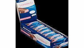 Multipower l-carnitine Strawberry Yogurt Bar - L-Carnitine Bar. The L-Carnitine bar is a delicious light snack with 25 % protein and 200mg l-carnitine to support body toning. http://www.comparestoreprices.co.uk/vitamins-and-supplements/multipower-l-carnitine-strawberry-yogurt-bar-.asp