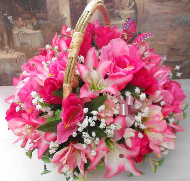Artificial Flower Arrangements For Graves Artificial Silk Flower Arrangement Posy In Large