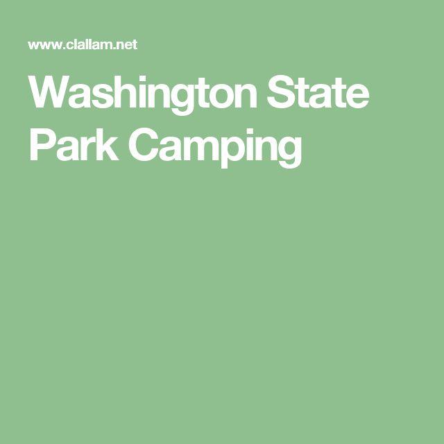Washington State Park Camping
