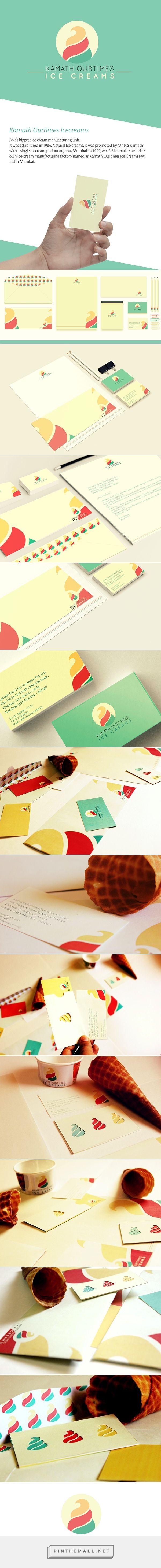 Kamath Ourtimes Ice Cream Branding by Meroo Seth   Fivestar Branding – Design and Branding Agency & Inspiration Gallery