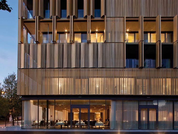 Gold facade hotel google search gold pinterest for Design merrion hotel 4