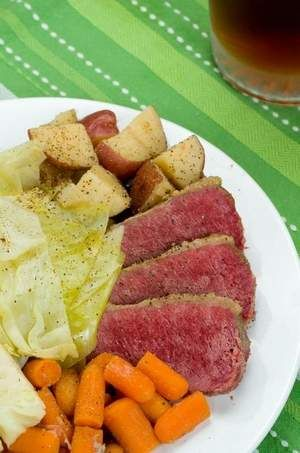 Pressure Cooker Corned Beef & Cabbage