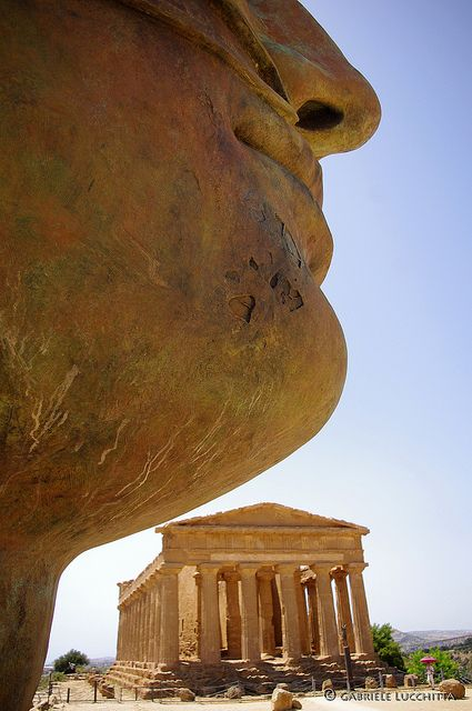 Valle dei Templi , Agrigento - Sicily did you know Sicily has more greek temples still standing than anywhere else ?