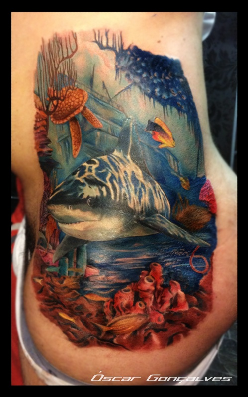 Underwater Shipwreck Tattoo 30 best images ...
