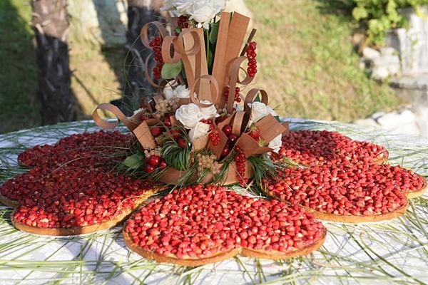 Torta Nuziale Crostata di Fragole