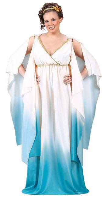 Griechin Damenkostüm Römerin XXL hellblau-weiss , günstige Faschings  Kostüme bei Karneval Megastore, der größte Karneval und Faschings Kostüm- und Partyartikel Online Shop Europas!