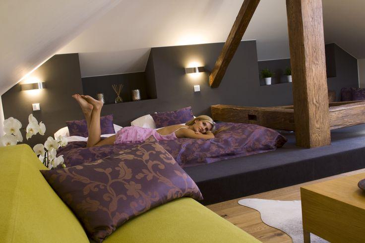"""Romantic attic room """"Augustian"""""""