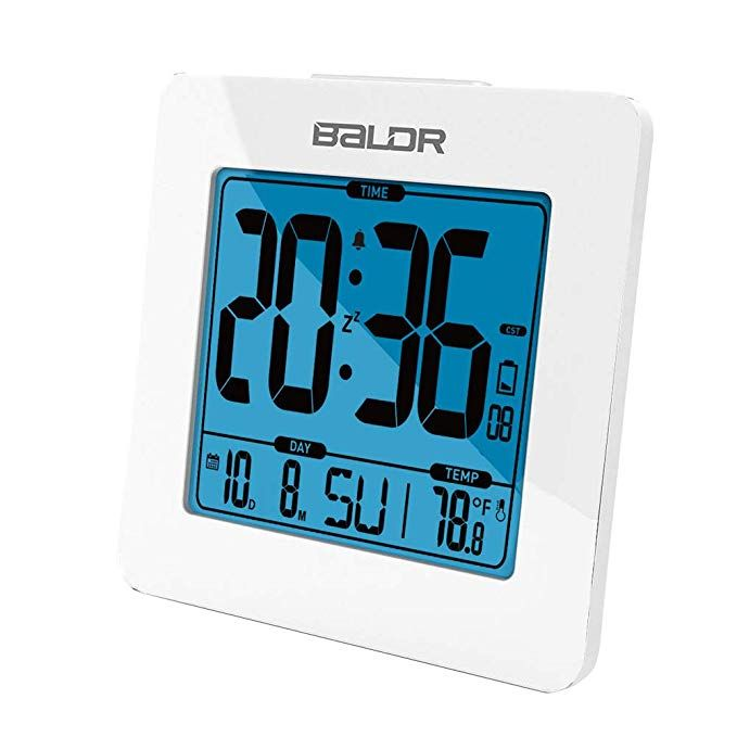 Baldr Digital Alarm Clock Easy To Read Simple To Set Up Battery Operated And Cordless Not Just For Bedrooms Thes Alarm Clock Clock Digital Alarm Clock