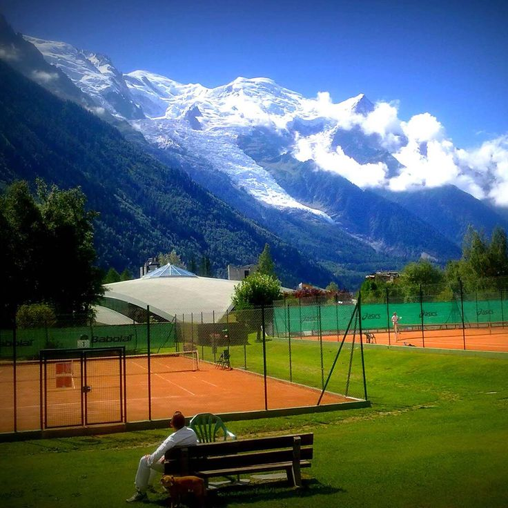 Tennis in Chamonix. Where was Nadal?