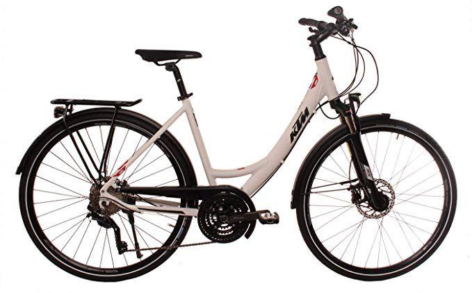 Ktm Damen Trekkingbike 28 Zoll Weiss Veneto Light Disc Fahrrad Stvzo Beleuchtung Shimano Kettenschaltung Tiefeinstieg Amazon De Sport Fahrrad Klapprad Ktm