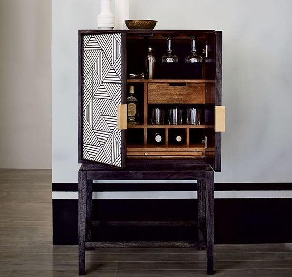 our favourite home bar cabinets