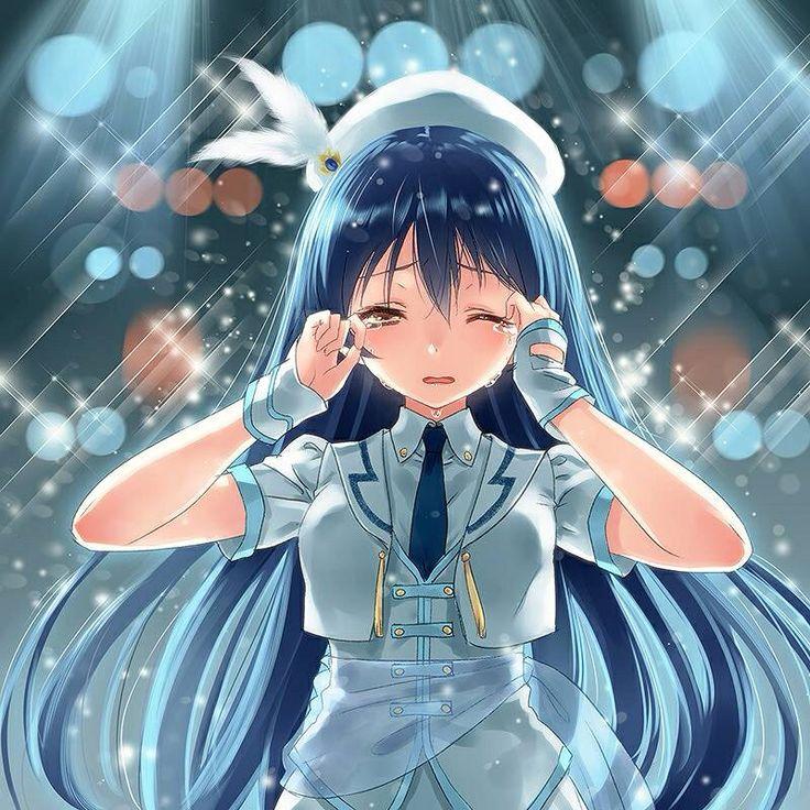 anime crying Anime, Umi love live, Anime crying