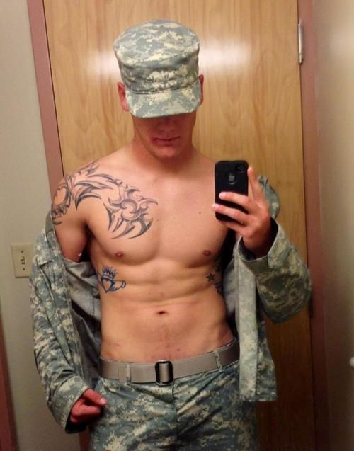image Hot army guy cumming gay extra