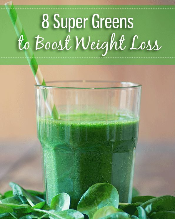 8 Super 'Greens' to Boost Weight Loss--Green vegetables are important superfoods for weight loss! #greenvegetables #superfoods #weightloss