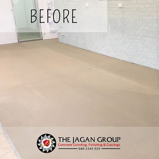 This Commercial Kitchen Floor Is Ready To Go Pictured Commercial Kitchen Epoxy Flooring Commercialkit Concrete Coatings Concrete Decor Commercial Flooring
