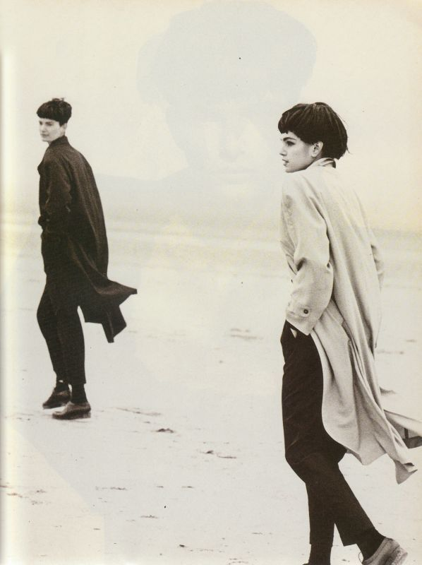 Vogue IT - Maschile - Linda Evangelista - Mar 1988 PETER LINDBERGH