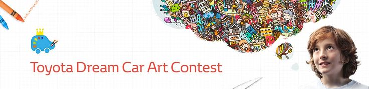 ‬ ‪#‎global‬ ‪#‎students‬ 15 yrs old and younger @TOYOTA #dream #car #art #contest invites children from around the globe to share ideas about the future of mobility by drawing their dream cars. See Details ~ Deadline: March 1, 2016