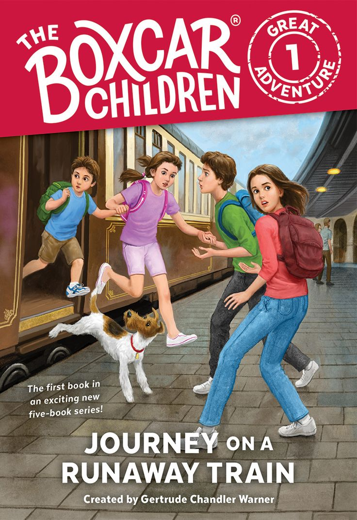The Boxcar Children's newest mystery, Journey on a Runaway Train