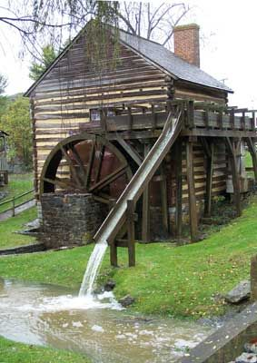 McCormick's Mill in Augusta County, Virginia is one of the buildings at Walnut Grove, the former farm of inventor, Cyrus McCormick. The grist mill was built prior to 1800.