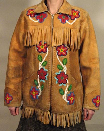 Beaded Jacket Native American Beadwork Pinterest