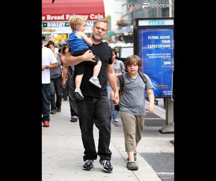 Vincent con sus hijos Luca Y Elias