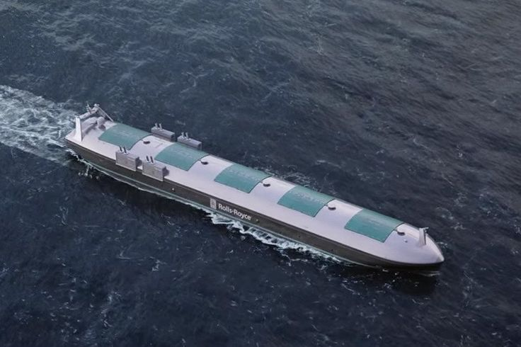 Rolls-Royces cargo ship of the future requires no onboard crew  While most of us associate the Rolls-Royce name with luxury cars and jet engines it also has strong links to the marine sector where it designs vessels and integrates power systems.  Separate from the car business Rolls-Royce Holdings has for some time been researching the idea of autonomous and remotely controlled cargo ships that it says could take to the high seas as early as 2020.  The futuristic-looking vessels can be…