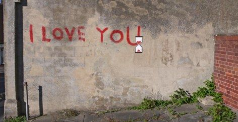 Banksy...Ilove you