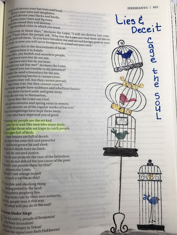 Stampin Up Aviary, pens, Jeremiah 4: 26-27