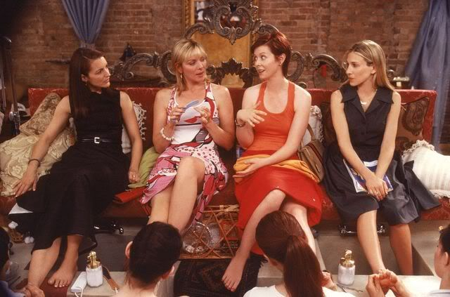 Image result for sex and the city pedicure