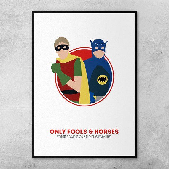 Only Fools and Horses   David Jason   Nicholas Lyndhurst   Minimal Artwork Poster