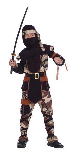 Dětské kostýmy | kostýmy pro kluky | dětská maska Ninja Comando - kostým | kostýmy a masky na karneval-paruky-karnevalové kostýmy-karnevalové masky