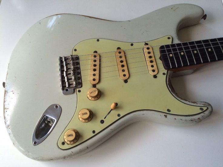 1963 Sonic Blue Fender Stratocaster